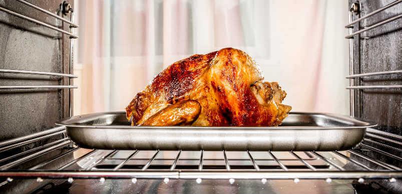 Pavo de Navidad en horno