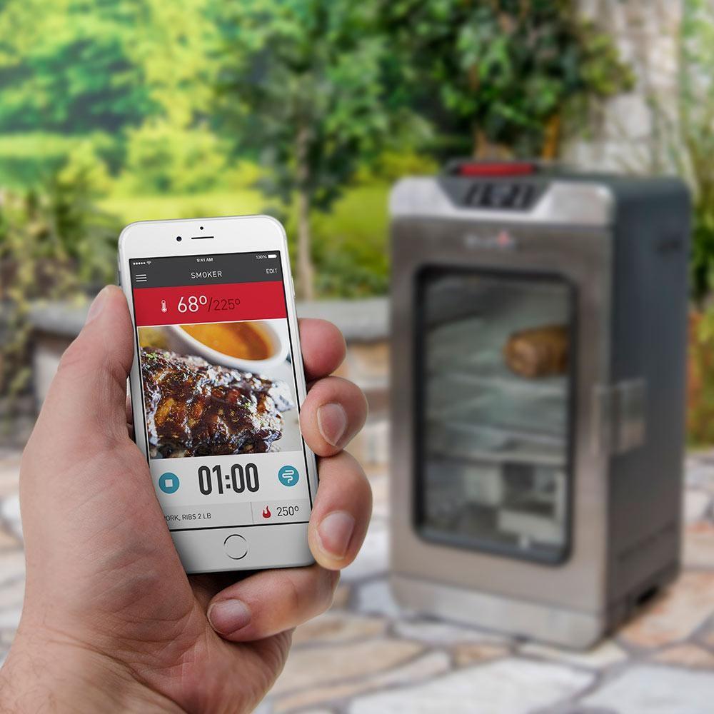 Fumador eléctrico digital Char-Broil con tecnología SmartChef