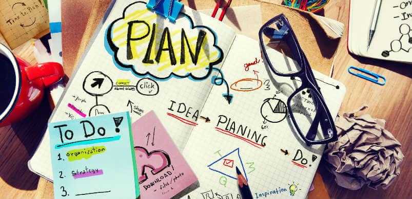 Notas de planificación con estacionario