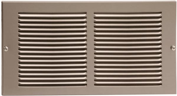 rejillas de ventilación de piso versus rejillas de ventilación de pared